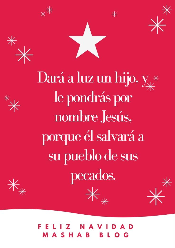 Dará a luz un hijo, y le pondrás por nombre Jesús, porque él salvará a su pueblo de sus pecados..jpg